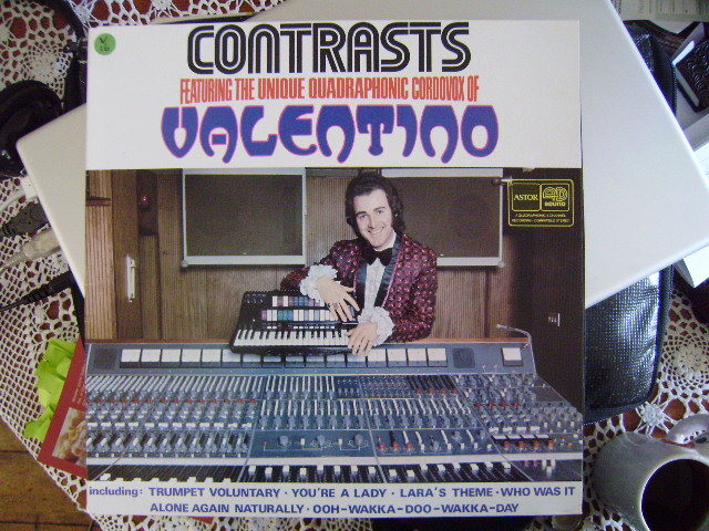 Record cover of album 'Contrasts', by Valentino